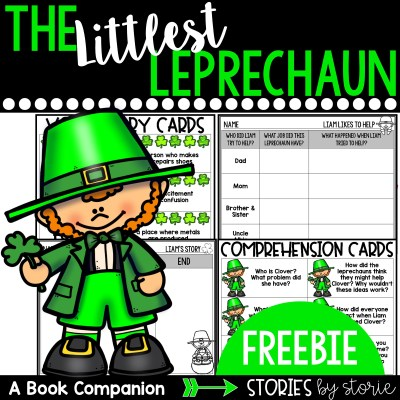 The Littlest Leprechaun by Brandi Dougherty is a sweet story to read around St. Patrick's Day. Here are some comprehension and vocabulary activities you can pair with this story.