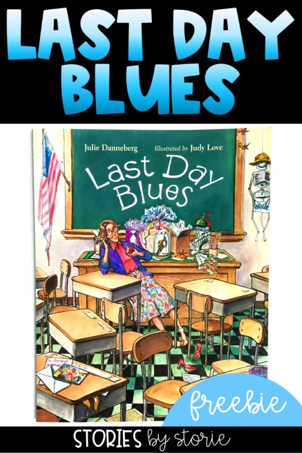 The end of the school year is quickly approaching. One of my favorite stories to share is Last Day Blues by Julie Danneberg. In this story, the children come up with a plan to make sure their teacher won't be sad and miss them over the summer. But Mrs. Hartwell and the other teachers have some plans of their own. I have a couple of freebies you can use with this story.