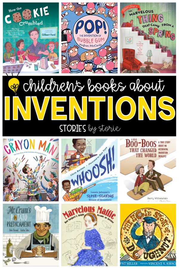 Do you have students in your classroom who love to build, tinker, and create? You may have a future inventor or engineer on your hands! Here are some of my favorite children's books about inventions. These books are also a great addition to your STEM/STEAM book collection.