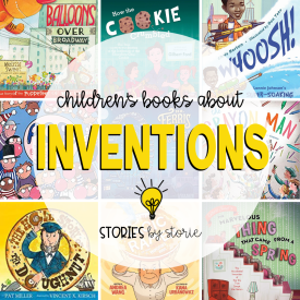 Do you have students in your classroom who love to build, tinker, and create? You may have a future inventor or engineer on your hands! Here are some of my favorite children's books about inventions to help encourage those creative minds! These books are also a great addition to your STEM/STEAM book collection.