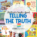 Telling the truth doesn't always come easily or naturally for children. Kids know they should tell the truth, but they also don't like to get into trouble or disappoint adults. We need to teach children to be truthful with their words and actions. In addition to modeling this, I like to share picture books with this message. Here are some of my favorite children's books about telling the truth.