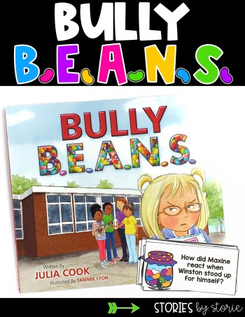 These discussion questions and writing pages can be used while reading Bully B.E.A.N.S. by Julia Cook.