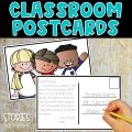 Students love to receive notes from their teacher! In our digital world, a handwritten or personalized note can add that special touch and let students know how much you care. Classroom postcards are a quick and easy way to jot a personal note to your students, communicate with families about an upcoming school event, let families know when school supplies are getting low, and more! Here are several ways you can use postcards in the classroom.
