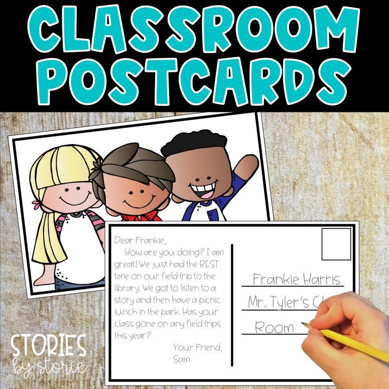 Classroom Postcards