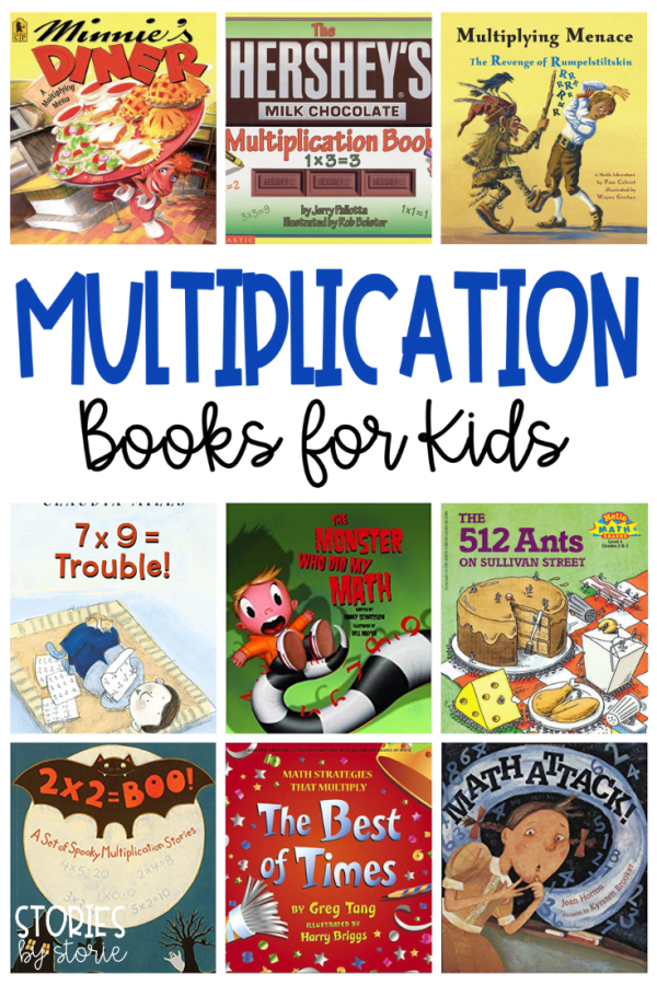 Here are some great multiplication books for kids. Whether you are teaching equal groups, repeated addition, arrays, or just trying to help students understand multiplication, children's books are a great way to bring math concepts to life.