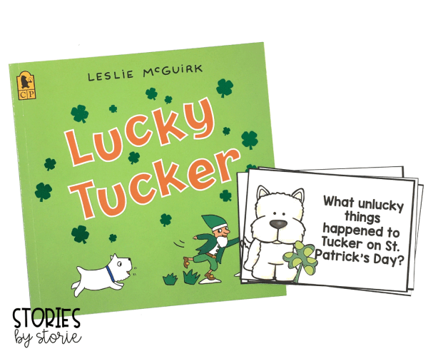 These four questions can help guide your discussion while reading Lucky Tucker.