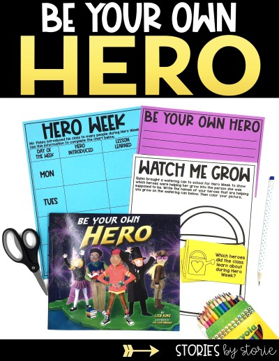 If you're reading Be Your Own Hero by Lisa King, these activities will help guide your students through the book.