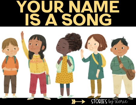 Have you read Your Name is a Song? Here are some free name activities you can pair with this book. These would be great for Back to School activities, but can be used any time of year.