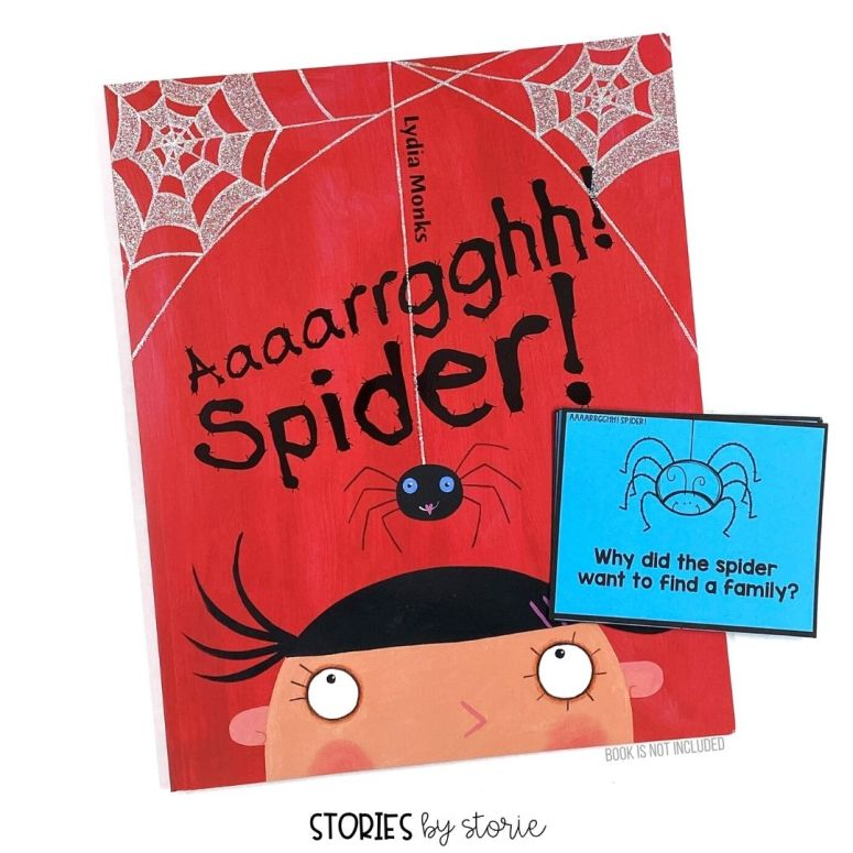 Use these questions to guide your discussion as you read Aaaarrgghh! Spider! by Lydia Monks.