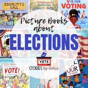 With election day around the corner, kids are getting curious about what is happening. Here are some picture books about elections to help start a conversation. These stories help explain why it is important to vote, how voting rights have evolved over the years, and show how kids can start taking action from a young age.