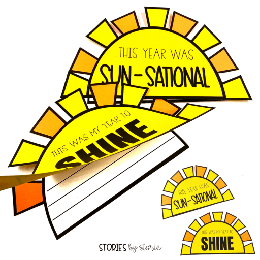 Let your students shine as they look back on the school year with this sunshine writing craft.