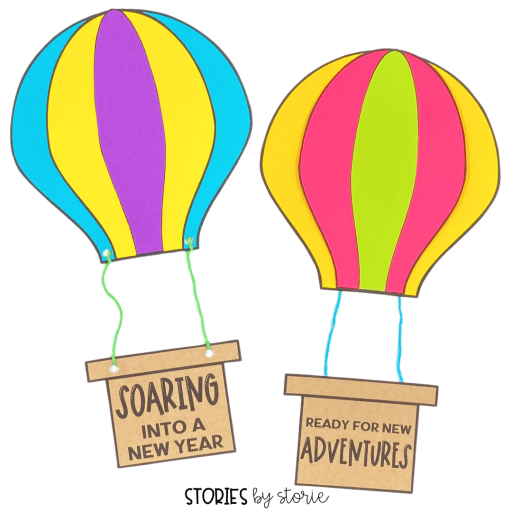 Let student dreams for the new school year soar with this hot air balloon writing craft.