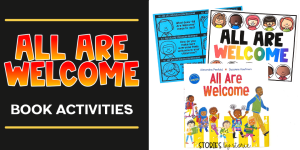 The beginning of the school year is often a combination of excitement, nerves, and possibilities. One of my favorite books to start the year is All Are Welcome. This book lets young children know that no matter what, they have a place, they have a space, they are welcome in their school. Here are a few activities you can pair with this book.