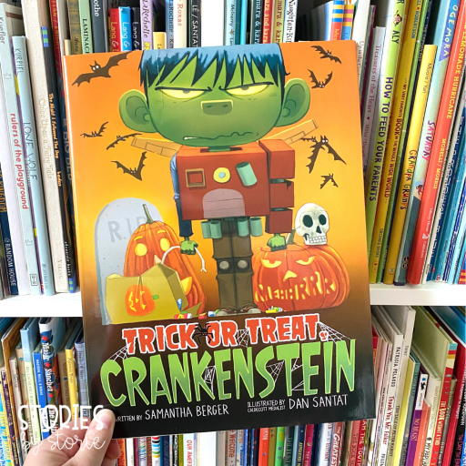 Trick or Treat Crankenstein is a great book to share near Halloween.