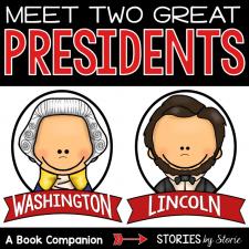 George Washington and Abraham Lincoln