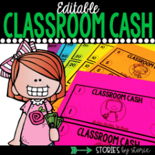 Editable Classroom Money