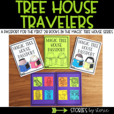 Magic Tree House Passport Booklet