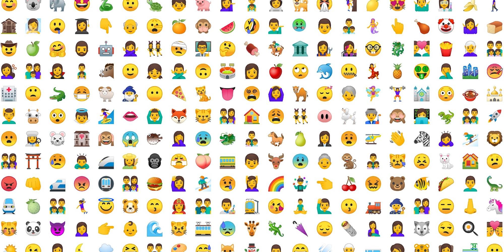 De Uma Olhadinha No Emoji Genero Neutro Que Chega Aos
