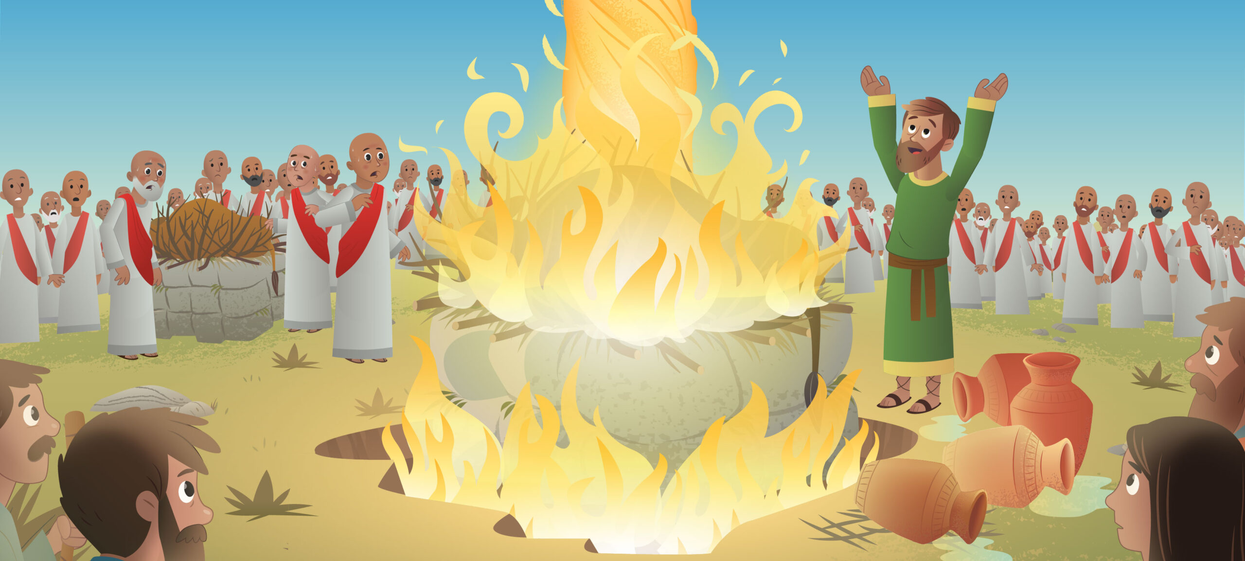 Elijah Bible Story For Kids