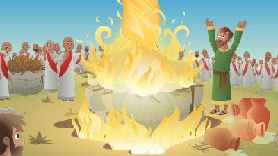 Elijah Bible Story For Kids