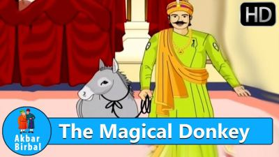 The Magical Donkey Story in English - Akbar Birbal Story in English