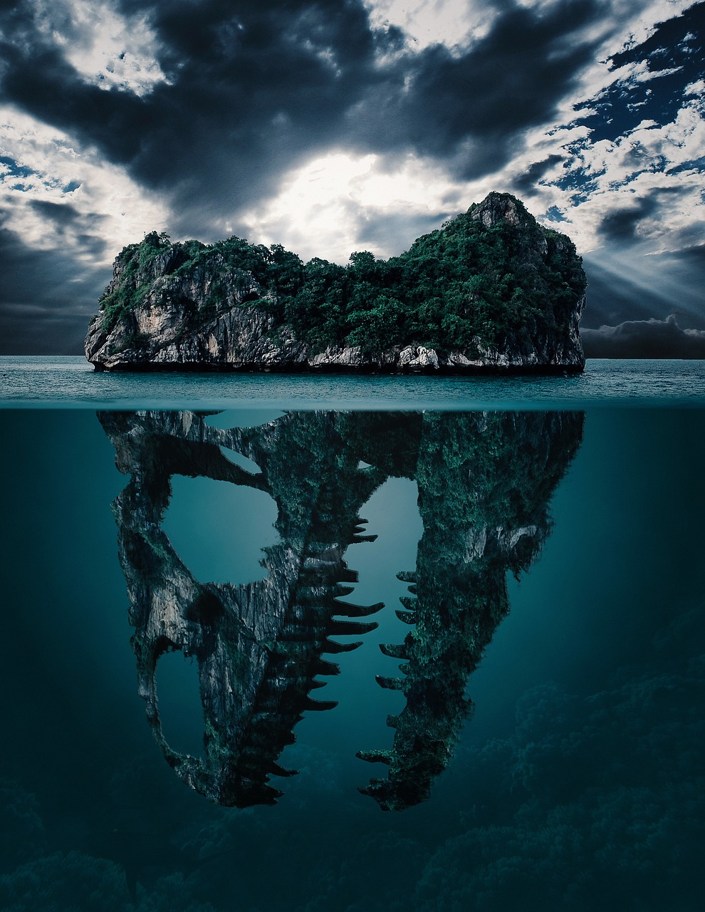 Swimming in the Sea of Mysteries - Stories in Science
