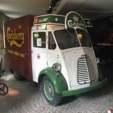 Old Carlsberg delivery truck