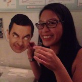 Me and Mr Bean drank schnapps