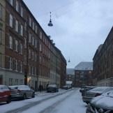 Copenhagen with snow