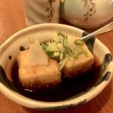 Agedashi tofu from Restaurant Miga