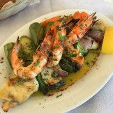 Mix seafood grill on Spetses island