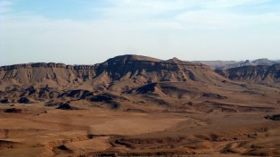 Mitzpe Ramon and its craters
