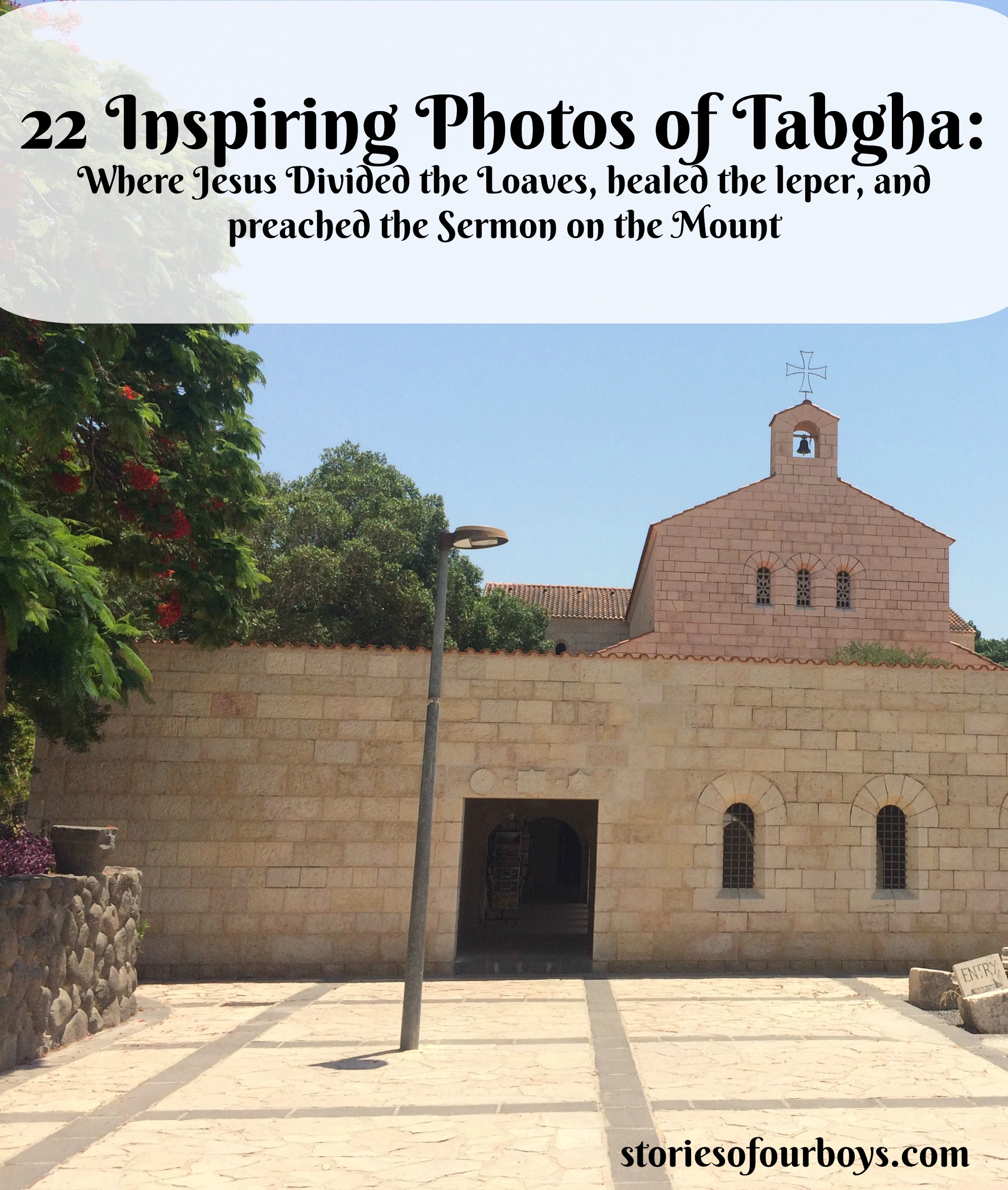 22 Inspiring Photos of Ancient Tabgha, Where Jesus Performed