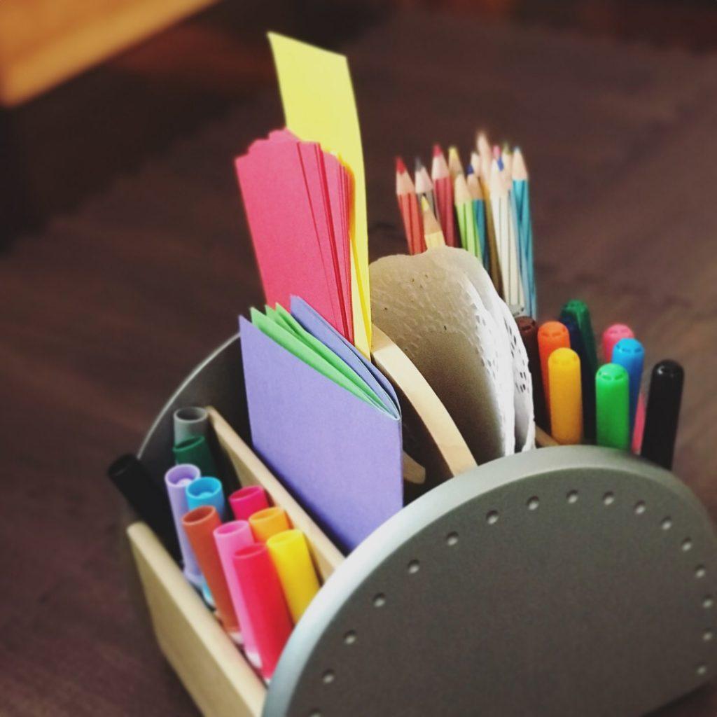 art supplies - paper