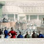 Barristers Successfully Challenge Exclusion from  Side Passages of Court, 1848