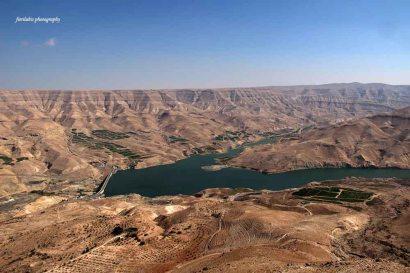 Mujib dam, Jordan