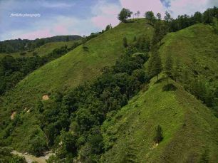 The scenery in Gayo Luwes District