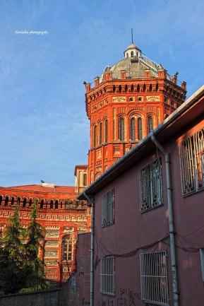 Greek School, seen from one of the street.