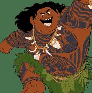 Maui from Moana