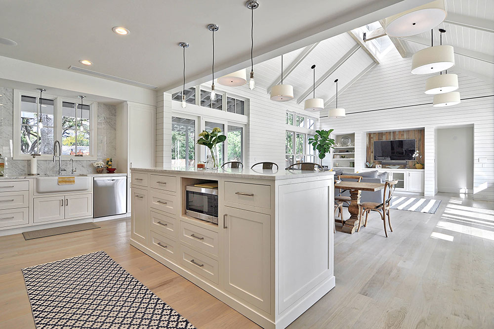 Open Design Ideas For The Kitchen And Living Room Storiestrending Com