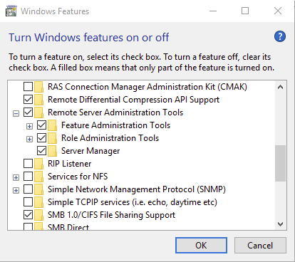 Active Directory Users and Computers Missing on Windows 10