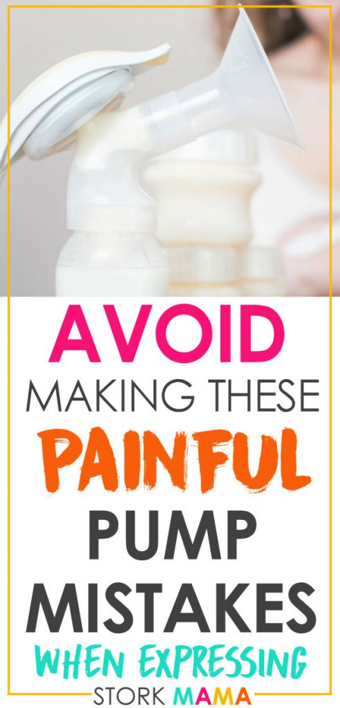 Want to avoid breast pumping pain? Expressing can be hard, especially when it's sore. Read these tips to make pumping breast milk much easier for new moms. Stork Mama