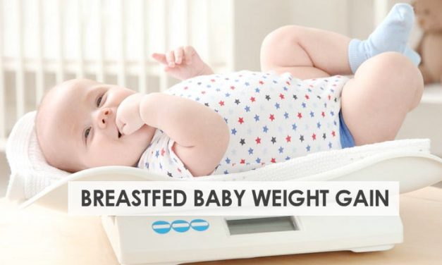 Breastfed Baby Weight Gain – What You Should Know