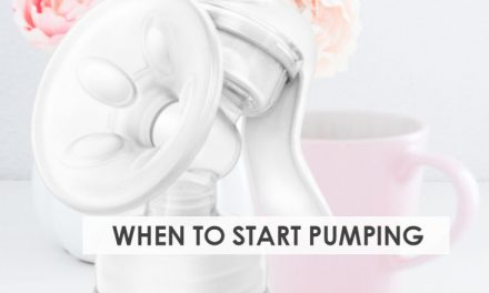 When to Start Pumping Breast Milk