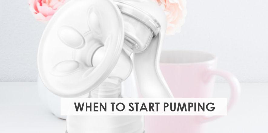 When to Start Pumping Breast Milk