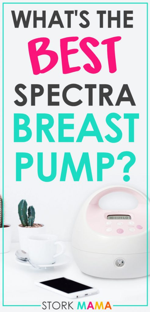 The Best Spectra Breast Pump Review | find out which spectra breast pump is right for you. There is a whole range of hospital grade to portable breast pumps to meet your new mom lifestyle needs. Stork Mama