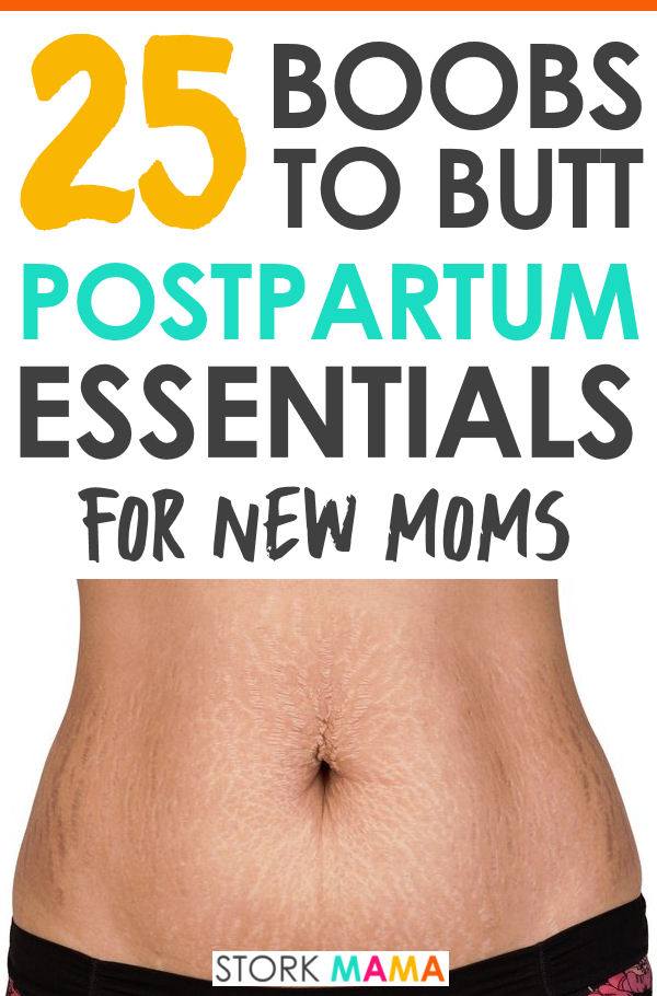 Postpartum Essentials for New Moms. Check out my picks of the products that will make your postpartum recovery so much better. Everything to heal your postpartum body. Stork Mama