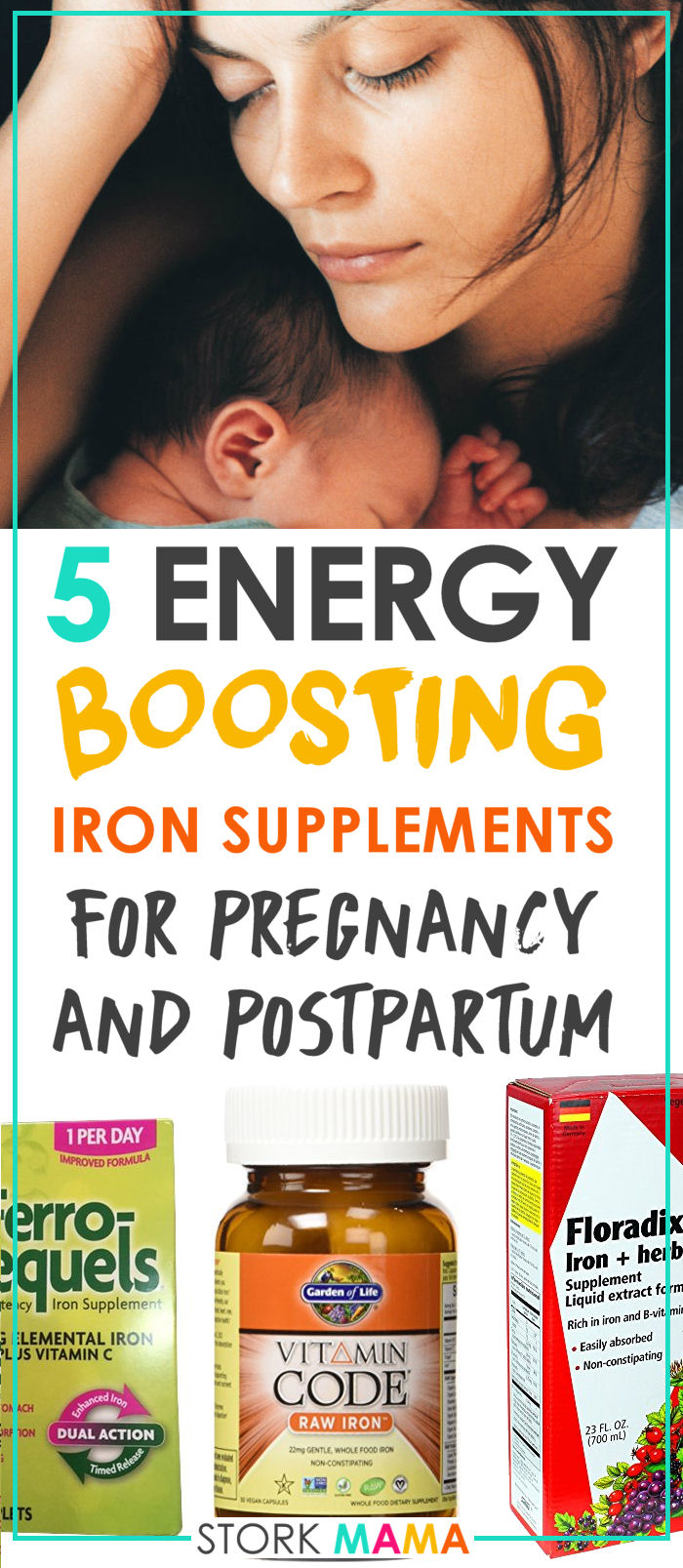Feeling constantly drained by pregnancy or after birth? You may have anemia. Iron tablets will help you feel better, give you more energy and help prepare you for birth or recover better. Best Iron Supplement for Pregnancy Anemia | Stork Mama