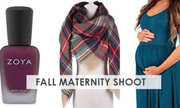 5 Fall Maternity Photo Shoot Outfits