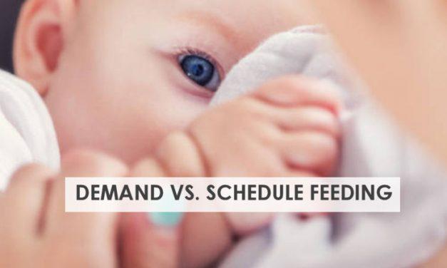 Feeding on Demand When Breastfeeding
